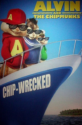 New Alvin And The Chipmunks Movie Used Roatan Cruise Ship For - Cruise ship movie
